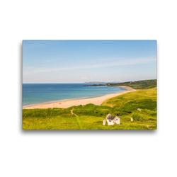 Premium Textil-Leinwand 45 x 30 cm Quer-Format Irland. Insel zwischen den Meeren | Wandbild, HD-Bild auf Keilrahmen, Fertigbild auf hochwertigem Vlies, Leinwanddruck von TEKTUR