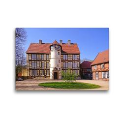 Premium Textil-Leinwand 45 x 30 cm Quer-Format Johann-Friedrich-Danneil Museum – Salzwedel   Wandbild, HD-Bild auf Keilrahmen, Fertigbild auf hochwertigem Vlies, Leinwanddruck von Beate Bussenius