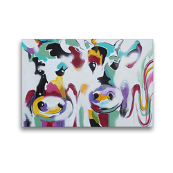 Premium Textil-Leinwand 45 x 30 cm Quer-Format Just married | Wandbild, HD-Bild auf Keilrahmen, Fertigbild auf hochwertigem Vlies, Leinwanddruck von Elena Ennikova