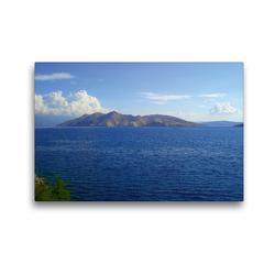 Premium Textil-Leinwand 45 x 30 cm Quer-Format Kroatien Krk | Wandbild, HD-Bild auf Keilrahmen, Fertigbild auf hochwertigem Vlies, Leinwanddruck von EigenArt