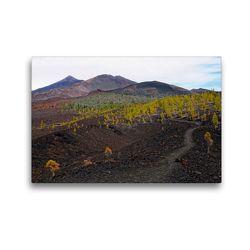 Premium Textil-Leinwand 45 x 30 cm Quer-Format Landschaft im Teide Nationalpark Teneriffa | Wandbild, HD-Bild auf Keilrahmen, Fertigbild auf hochwertigem Vlies, Leinwanddruck von Anja Frost