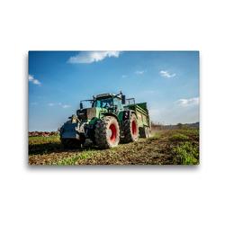 Premium Textil-Leinwand 45 x 30 cm Quer-Format Landwirtschaft – Im Landkreis Schaumburg | Wandbild, HD-Bild auf Keilrahmen, Fertigbild auf hochwertigem Vlies, Leinwanddruck von Simon Witt