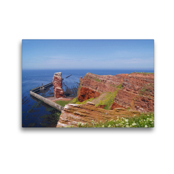Premium Textil-Leinwand 45 x 30 cm Quer-Format Lange Anna   Wandbild, HD-Bild auf Keilrahmen, Fertigbild auf hochwertigem Vlies, Leinwanddruck von Kattobello