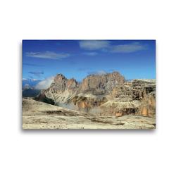 Premium Textil-Leinwand 45 x 30 cm Quer-Format Langkofel | Wandbild, HD-Bild auf Keilrahmen, Fertigbild auf hochwertigem Vlies, Leinwanddruck von Gerhard Albicker