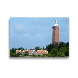 Premium Textil-Leinwand 45 x 30 cm Quer-Format Leuchtturm | Wandbild, HD-Bild auf Keilrahmen, Fertigbild auf hochwertigem Vlies, Leinwanddruck von Susanne Herppich