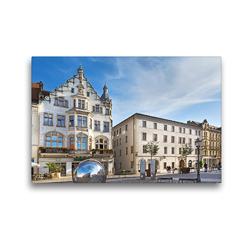 Premium Textil-Leinwand 45 x 30 cm Quer-Format Lutherstadt Wittenberg | Wandbild, HD-Bild auf Keilrahmen, Fertigbild auf hochwertigem Vlies, Leinwanddruck von U boeTtchEr