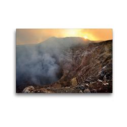 Premium Textil-Leinwand 45 x 30 cm Quer-Format Masaya Volcano National Park, Nicaragua   Wandbild, HD-Bild auf Keilrahmen, Fertigbild auf hochwertigem Vlies, Leinwanddruck von Christian Heeb
