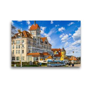 Premium Textil-Leinwand 45 x 30 cm Quer-Format Mecklenburg Vorpommern Impressionen   Wandbild, HD-Bild auf Keilrahmen, Fertigbild auf hochwertigem Vlies, Leinwanddruck von Dirk Meutzner