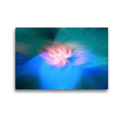Premium Textil-Leinwand 45 x 30 cm Quer-Format Menschlichkeit und Hoffnung | Wandbild, HD-Bild auf Keilrahmen, Fertigbild auf hochwertigem Vlies, Leinwanddruck von Monika Altenburger