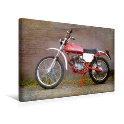 Premium Textil-Leinwand 45 x 30 cm Quer-Format Moto Morini | Wandbild, HD-Bild auf Keilrahmen, Fertigbild auf hochwertigem Vlies, Leinwanddruck von Gabi Siebenhühner
