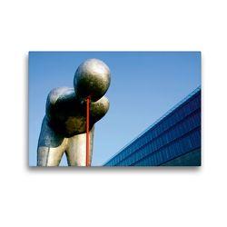 Premium Textil-Leinwand 45 x 30 cm Quer-Format München – Kunst und Architektur | Wandbild, HD-Bild auf Keilrahmen, Fertigbild auf hochwertigem Vlies, Leinwanddruck von Martina Marten