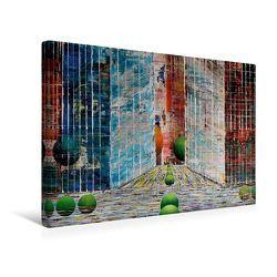 Premium Textil-Leinwand 45 x 30 cm Quer-Format New Yorker Satdtschlucht | Wandbild, HD-Bild auf Keilrahmen, Fertigbild auf hochwertigem Vlies, Leinwanddruck von Gerhard Kraus