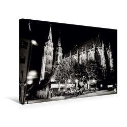 Premium Textil-Leinwand 45 x 30 cm Quer-Format Nürnberg | Wandbild, HD-Bild auf Keilrahmen, Fertigbild auf hochwertigem Vlies, Leinwanddruck von Markus W. Lambrecht von W. Lambrecht,  Markus