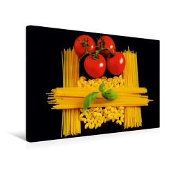 Premium Textil-Leinwand 45 x 30 cm Quer-Format Pasta   Wandbild, HD-Bild auf Keilrahmen, Fertigbild auf hochwertigem Vlies, Leinwanddruck von Thomas Jäger