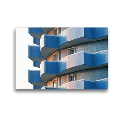 Premium Textil-Leinwand 45 x 30 cm Quer-Format Pjöngjang Architektur in der Hauptstadt Nordkoreas | Wandbild, HD-Bild auf Keilrahmen, Fertigbild auf hochwertigem Vlies, Leinwanddruck von Gabriele Gerner-Haudum
