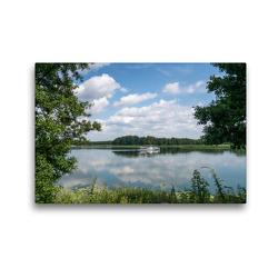 Premium Textil-Leinwand 45 x 30 cm Quer-Format Polen – Masuren | Wandbild, HD-Bild auf Keilrahmen, Fertigbild auf hochwertigem Vlies, Leinwanddruck von Peter Schickert