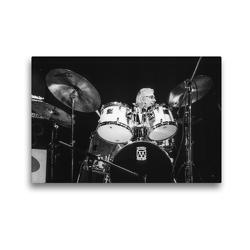 Premium Textil-Leinwand 45 x 30 cm Quer-Format Randy Jones (Schlagzeug) | Wandbild, HD-Bild auf Keilrahmen, Fertigbild auf hochwertigem Vlies, Leinwanddruck von Klaus Rohwer