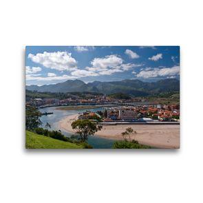 Premium Textil-Leinwand 45 x 30 cm Quer-Format Ribadesella, Asturien   Wandbild, HD-Bild auf Keilrahmen, Fertigbild auf hochwertigem Vlies, Leinwanddruck von Andreas Schön