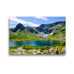 Premium Textil-Leinwand 45 x 30 cm Quer-Format RILA | Wandbild, HD-Bild auf Keilrahmen, Fertigbild auf hochwertigem Vlies, Leinwanddruck von Sina Georgiev-Bröhl