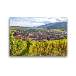 Premium Textil-Leinwand 45 x 30 cm Quer-Format Riquewihr | Wandbild, HD-Bild auf Keilrahmen, Fertigbild auf hochwertigem Vlies, Leinwanddruck von Jürgen Feuerer