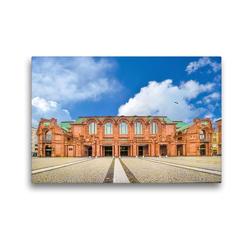 Premium Textil-Leinwand 45 x 30 cm Quer-Format Rosengarten | Wandbild, HD-Bild auf Keilrahmen, Fertigbild auf hochwertigem Vlies, Leinwanddruck von Alessandro Tortora