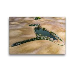 Premium Textil-Leinwand 45 x 30 cm Quer-Format Rothsee | Wandbild, HD-Bild auf Keilrahmen, Fertigbild auf hochwertigem Vlies, Leinwanddruck von Daniela Kloth & Ralf Roletschek