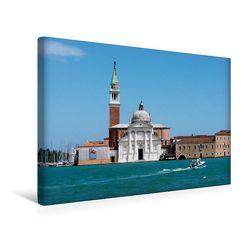 Premium Textil-Leinwand 45 x 30 cm Quer-Format S.Giorgio Maggiore | Wandbild, HD-Bild auf Keilrahmen, Fertigbild auf hochwertigem Vlies, Leinwanddruck von Thomas Jäger