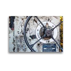 Premium Textil-Leinwand 45 x 30 cm Quer-Format Schrott: Ästhetik der Vergänglichkeit | Wandbild, HD-Bild auf Keilrahmen, Fertigbild auf hochwertigem Vlies, Leinwanddruck von N N