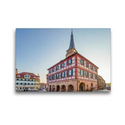 Premium Textil-Leinwand 45 x 30 cm Quer-Format Schwabach Impressionen   Wandbild, HD-Bild auf Keilrahmen, Fertigbild auf hochwertigem Vlies, Leinwanddruck von Dirk Meutzner