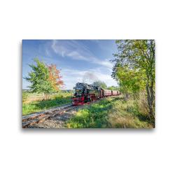 Premium Textil-Leinwand 45 x 30 cm Quer-Format Selketalbahn bei Stiege | Wandbild, HD-Bild auf Keilrahmen, Fertigbild auf hochwertigem Vlies, Leinwanddruck von Steffen Gierok