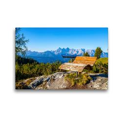 Premium Textil-Leinwand 45 x 30 cm Quer-Format Setz dich nieder und werde ruhig | Wandbild, HD-Bild auf Keilrahmen, Fertigbild auf hochwertigem Vlies, Leinwanddruck von Christa Kramer