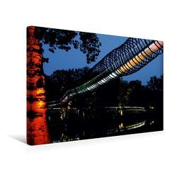 Premium Textil-Leinwand 45 x 30 cm Quer-Format Slinky Springs to Fame, Oberhausen | Wandbild, HD-Bild auf Keilrahmen, Fertigbild auf hochwertigem Vlies, Leinwanddruck von Christine Daus