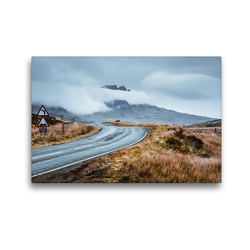 Premium Textil-Leinwand 45 x 30 cm Quer-Format Straßen von Skye | Wandbild, HD-Bild auf Keilrahmen, Fertigbild auf hochwertigem Vlies, Leinwanddruck von Fabian Zocher