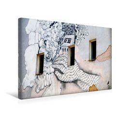 Premium Textil-Leinwand 45 x 30 cm Quer-Format Streetart | Wandbild, HD-Bild auf Keilrahmen, Fertigbild auf hochwertigem Vlies, Leinwanddruck von Helene Seidl von Seidl,  Helene