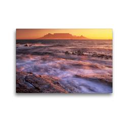 Premium Textil-Leinwand 45 x 30 cm Quer-Format Südafrika Christian Heeb – Familienplaner hoch   Wandbild, HD-Bild auf Keilrahmen, Fertigbild auf hochwertigem Vlies, Leinwanddruck von Christian Heeb