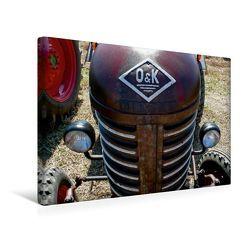 Premium Textil-Leinwand 45 x 30 cm Quer-Format Traktoren kraftvolle Freunde | Wandbild, HD-Bild auf Keilrahmen, Fertigbild auf hochwertigem Vlies, Leinwanddruck von Ingo Laue von Laue,  Ingo