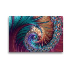 Premium Textil-Leinwand 45 x 30 cm Quer-Format Traumphase CB | Wandbild, HD-Bild auf Keilrahmen, Fertigbild auf hochwertigem Vlies, Leinwanddruck von Claudia Burlager