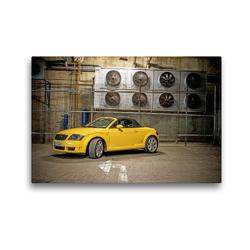 Premium Textil-Leinwand 45 x 30 cm Quer-Format TT 8N Roadster | Wandbild, HD-Bild auf Keilrahmen, Fertigbild auf hochwertigem Vlies, Leinwanddruck von SchnelleWelten