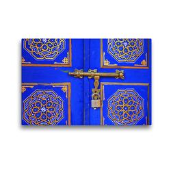 Premium Textil-Leinwand 45 x 30 cm Quer-Format Türdetail | Wandbild, HD-Bild auf Keilrahmen, Fertigbild auf hochwertigem Vlies, Leinwanddruck von Gabriele Gerner-Haudum