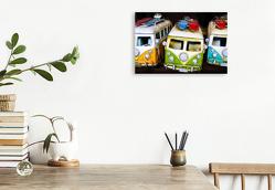 Premium Textil-Leinwand 45 x 30 cm Quer-Format Vanlife – Roadtrip Impressionen   Wandbild, HD-Bild auf Keilrahmen, Fertigbild auf hochwertigem Vlies, Leinwanddruck von Rolf Dietz