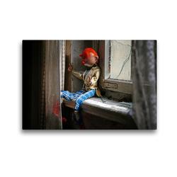 Premium Textil-Leinwand 45 x 30 cm Quer-Format Verlassen und versponnen | Wandbild, HD-Bild auf Keilrahmen, Fertigbild auf hochwertigem Vlies, Leinwanddruck von Flori0