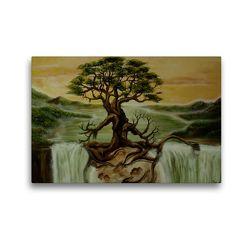 Premium Textil-Leinwand 45 x 30 cm Quer-Format Verwurzelt | Wandbild, HD-Bild auf Keilrahmen, Fertigbild auf hochwertigem Vlies, Leinwanddruck von Conny Krakowski