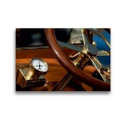 Premium Textil-Leinwand 45 x 30 cm Quer-Format Vintage cars | Wandbild, HD-Bild auf Keilrahmen, Fertigbild auf hochwertigem Vlies, Leinwanddruck von Martina Marten