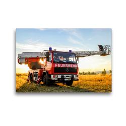 Premium Textil-Leinwand 45 x 30 cm Quer-Format Waldbrandbeobachtung   Wandbild, HD-Bild auf Keilrahmen, Fertigbild auf hochwertigem Vlies, Leinwanddruck von Steffani Lehmann (Hrsg.)