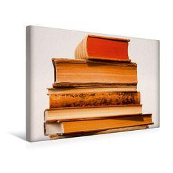 Premium Textil-Leinwand 45 x 30 cm Quer-Format Welt der Bücher | Wandbild, HD-Bild auf Keilrahmen, Fertigbild auf hochwertigem Vlies, Leinwanddruck von Thomas Jäger