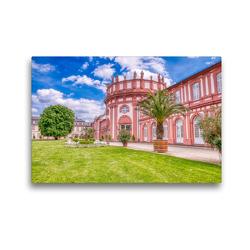Premium Textil-Leinwand 45 x 30 cm Quer-Format Wiesbaden | Wandbild, HD-Bild auf Keilrahmen, Fertigbild auf hochwertigem Vlies, Leinwanddruck von Dieter Meyer