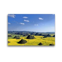 Premium Textil-Leinwand 45 x 30 cm Quer-Format Wildes China | Wandbild, HD-Bild auf Keilrahmen, Fertigbild auf hochwertigem Vlies, Leinwanddruck von Thomas Böhm