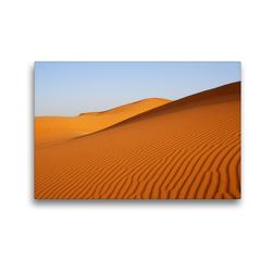Premium Textil-Leinwand 45 x 30 cm Quer-Format Wüste in Erg Chebbi | Wandbild, HD-Bild auf Keilrahmen, Fertigbild auf hochwertigem Vlies, Leinwanddruck von Askson Vargard