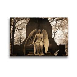 Premium Textil-Leinwand 45 x 30 cm Quer-Format your guardian angel – Dein Schutzengel für jeden Tag | Wandbild, HD-Bild auf Keilrahmen, Fertigbild auf hochwertigem Vlies, Leinwanddruck von Oliver Buchmann