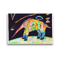 Premium Textil-Leinwand 45 x 30 cm Quer-Format Zeitingers Bestiarium | Wandbild, HD-Bild auf Keilrahmen, Fertigbild auf hochwertigem Vlies, Leinwanddruck von Paul Zeitinger
